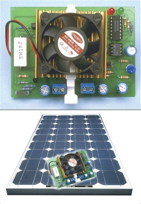 Automatic Solar Panel Charger Circuit