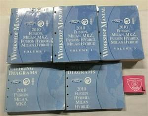 2010 Ford Fusion Milan Mkz Hybrid Service Shop Manuals 1