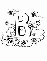 Bee Coloring Pages Bees Printable Preschool Printables Print Colouring Bumble Bambi Sheets Honey Bumblebee Letter Insect Fun Activities Flower Projects sketch template