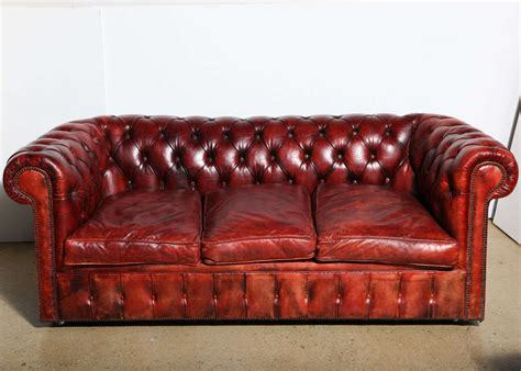 red leather sofa and loveseat mahogany red leather chesterfield sleeper sofa and