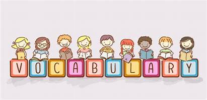 Vocabulary Clipart Words Reading Spelling Banner Categories