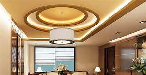 Living room False Ceiling Gypsum Board