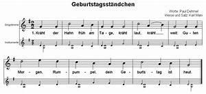 deutsches geburtstagslied text