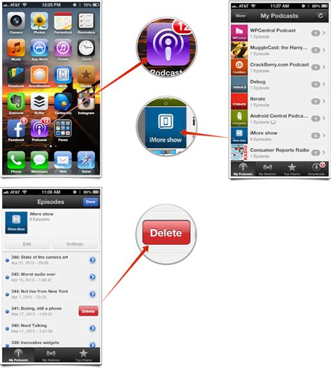app to clean iphone how to delete podcast episodes in the podcasts app for