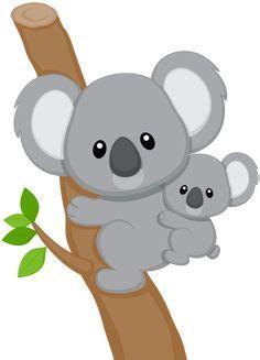 cute baby koala cartoon wallmonkeyscom clip art