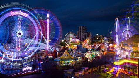 south east queensland light trails amusement park