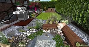 Idee Amenagement Jardin : decoration mur exterieur jardin pour de meilleures ~ Melissatoandfro.com Idées de Décoration