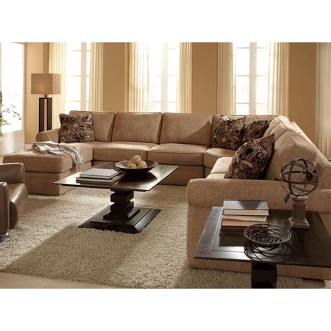broyhill veronica sectional sofa broyhill veronica upholstered laf chaise sectional sofa in