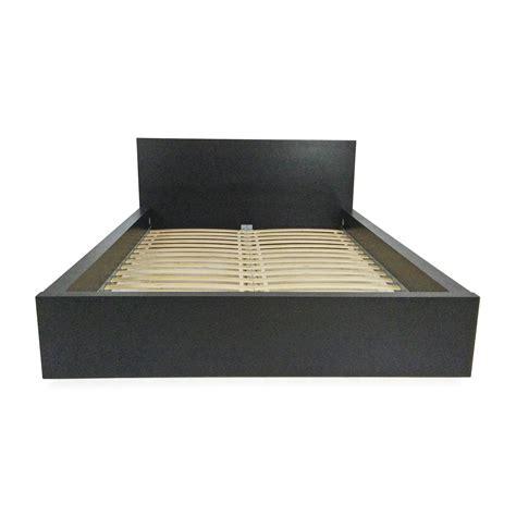 ikea bed black 51 off ikea malm black bed frame beds