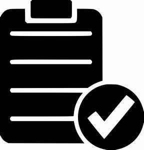 Check List Ok Form Yes Test Right Svg Png Icon Free ...