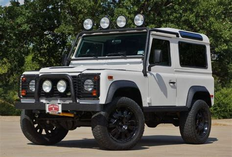land rover defender 4 door sell used 1997 land rover defender 90 base sport utility 2