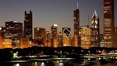 Skyline Chicago Wallpapers Houston Backgrounds Desktop Coastal