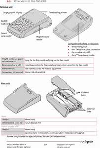 Ingenico Iwl2xxgcl Handheld Payment Terminal User Manual