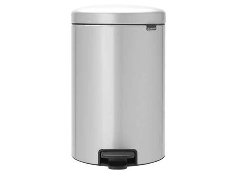 poubelle cuisine conforama poubelle cuisine 20 l gris icon chez conforama