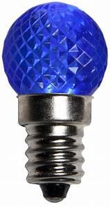 Blue Mini Lights G20 Blue Led Globe Light Bulbs