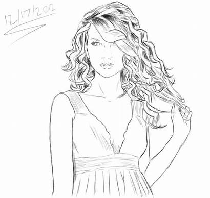 Coloring Swift Taylor Printable Sketch Sheets Coloriage
