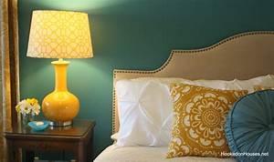 Yellow, Lamp, Bedroom, 2