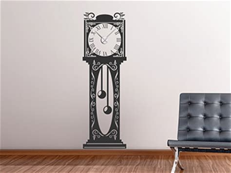 Moderne Uhren Für Die Wand by Wanduhren Als Wandtattoos Mit Zeiger Wandtattoo