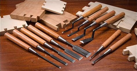 japanese push chisels lee valley tools woodworkers