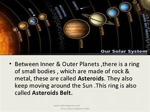 Best ppt on solar system