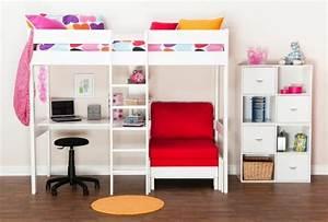 Hochbett Mit Sofa : design hochbett f r das moderne kinderzimmer ~ Watch28wear.com Haus und Dekorationen