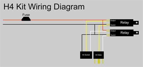 H4 Halogen Bulb Wiring Diagram h4 bulb wiring diagram 24h schemes