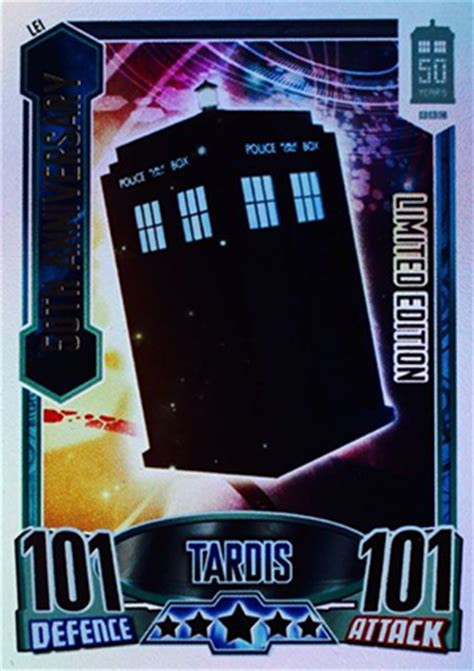 topps doctor  alien attax  anniversary