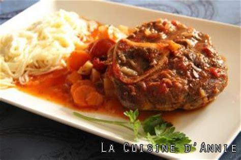 cuisine italienne osso bucco recette osso bucco la cuisine familiale un plat une recette