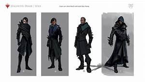 Dimir Spies Concept Art Guilds Of