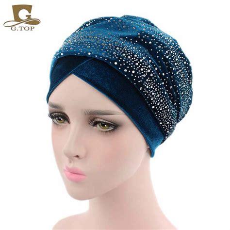 cheap wholesale luxury women velvet turban headband