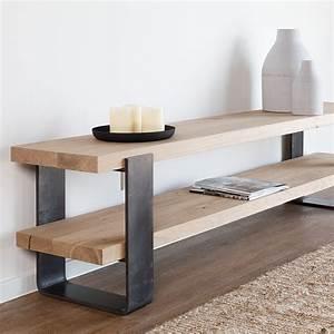 Meuble Tv En Chene : meuble tv perpignan en ch ne for me lab ~ Teatrodelosmanantiales.com Idées de Décoration