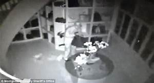 CCTV shows thief stealing $1m in designer goods from Texas ...