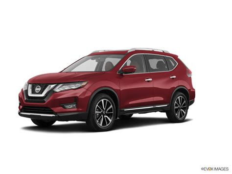 nissan rogue sl  car prices kelley blue book