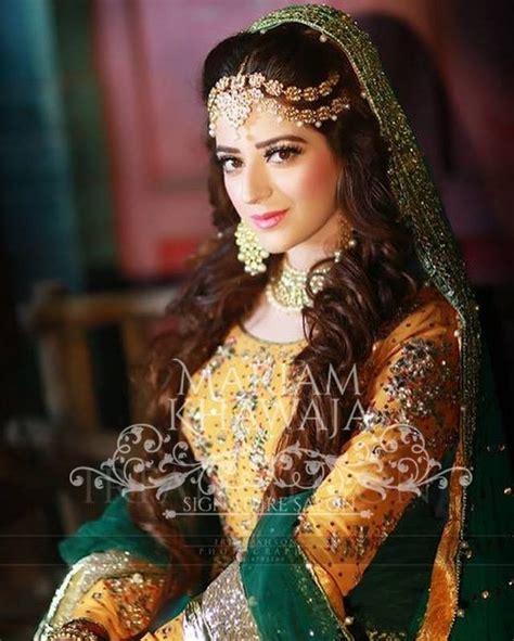 pakistani bridal hair style   girls women