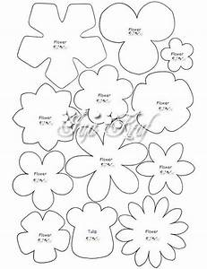reena craft all felt patern and tutorial for my blog With forged rose template