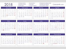 2018 Calendar Romana – 2018 New Year Images
