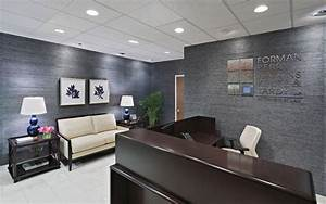 Law firm reception area designed by christina kim interior for Interior design law office pictures