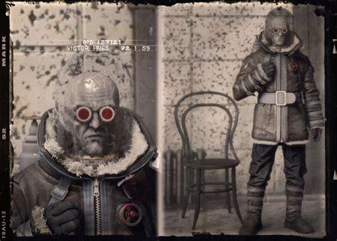 batman villains reimagined  vintage  mugshots