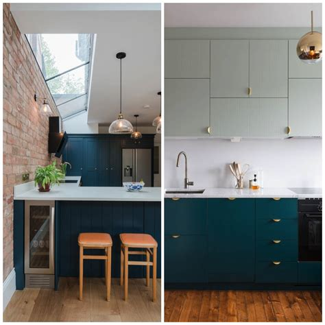 creative ways  include teal   kitchen