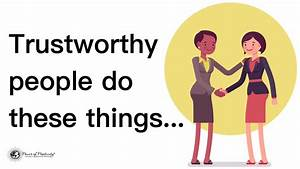 3 Traits Every Trustworthy Person Has In Common