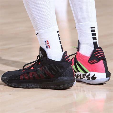 pros wear damian lillards adidas dame  shoes