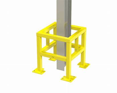 Column Protection Square Protector Protectors Building Verge