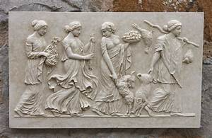GREEK FRIEZE WALL Plaque - Garden Wall Plaques Find Greek
