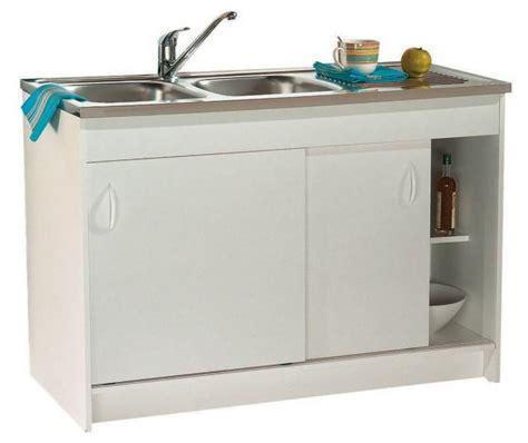 meuble cuisine sous evier 120 cm meubles bas de cuisine comparez les prix pour