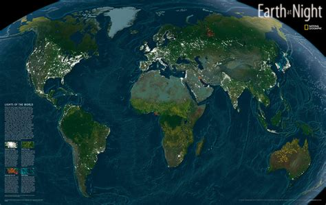 national geographics earth  night map maps   web