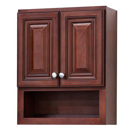 grand reserve cherry bathroom wall cabinet overstock