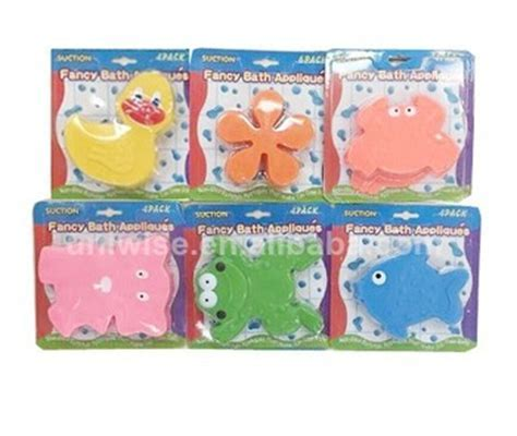 Fancy Non slip Pvc Mini Bath Mats,Animals Pvc Anti Slip Bath Tub Appliques W/suction Cup