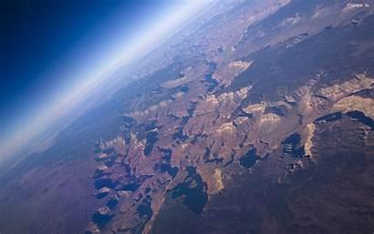 Canyon Grand Space Arizona Aerial Edge Near