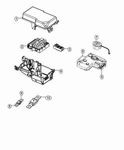 2016 Dodge Dart Fuse  Mega  200 Amp  Mdx  Lampsremote