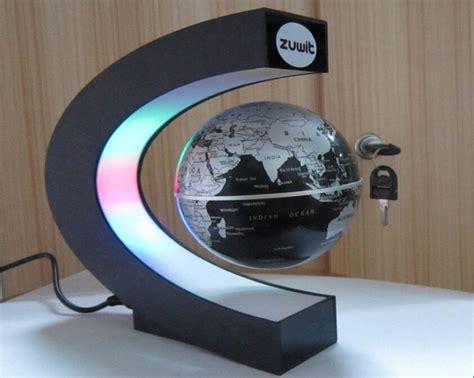 zuwit floating globe  led lights magnetic field